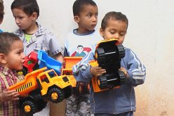 Cientos de niños marroquíes recibirán muy pronto su juguete