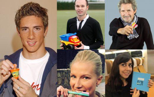 Numerosos famosos se suman año tras año a nuestra iniciativa