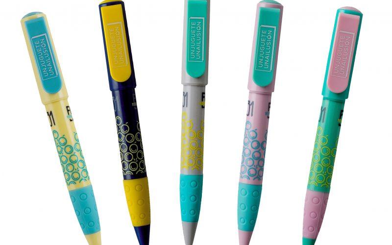 Nuevos bolígrafos solidarios en nuestra web