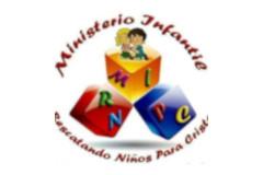 Logo Ministerio infantil Rescatando Niños para Cristo
