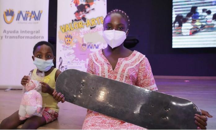 Imagen Niños ONG IMPAVI